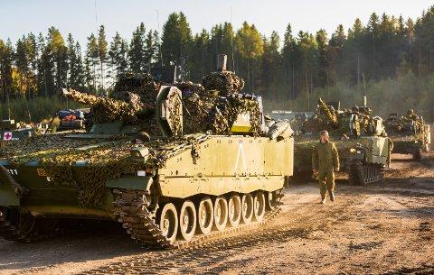 Forsvar: Den store Nato- øvelsen er rett rundt hjørnet. Det blir en krevende jobb på flere plan. foto: Forsvaret/pressefoto
