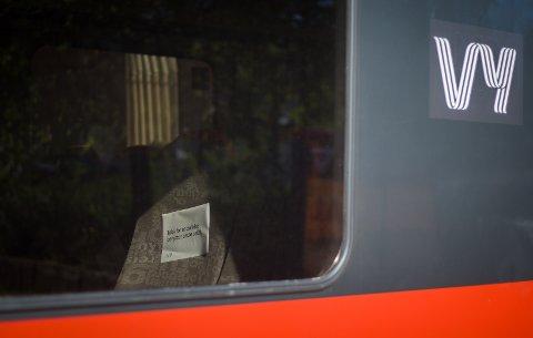 Nå stenges halvparten av togsetene.