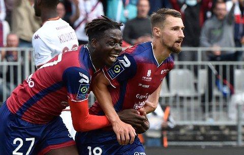 BRENNHET: Elbasan Rashani (til høyre) herjer i Ligue 1.