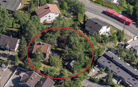 SOLGT: Eneboligen i Lyngveien med en tomt på hele 2053 kvadratmeter er nå solgt.