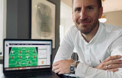 Kenneth Edvardsen er spent på om ledelsen holder helt inn, eller om han blir tatt igjen på målstreken.