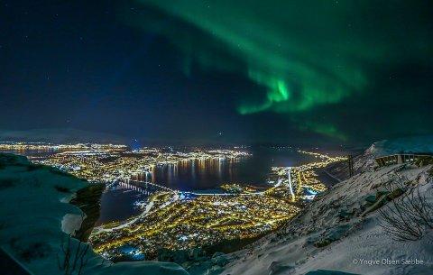 Tromsø skal utvikles som arktisk hovedstad. Det vil Troms fylkeskommune bidra til. Foto: Yngve Olsen Sæbbe
