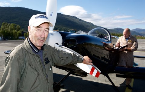 Bjørnar Vollstad flyttet hjemmefra for å lære å fly. Siden har han fløyet. Først jagerfly, deretter passasjerfly i SAS. Foto: Ola Solvang