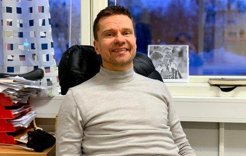 VED GODT MOT: Svein-Morten Johansen understreker at han har et godt forhold til folk i TIL og ikke bærer noe nag når han nå forlater klubben.