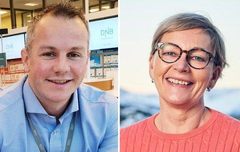 BANK-TOPPER: Både DNB og Sparebanken Nord-Norge merker allerede korona-effekten.