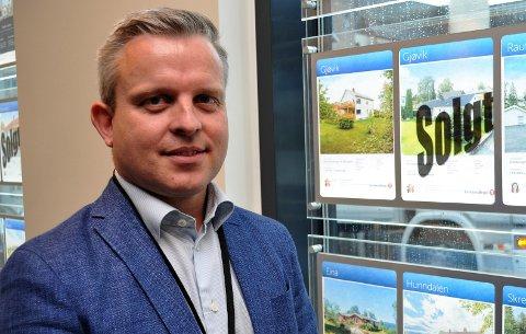 SØKER: Tidligere politiadvokat og eiendomsmekler - nå advokat - Joachim Sopp Onsrud er blant søkerne til to verv som fast forsvarer ved Gjøvik tingrett.