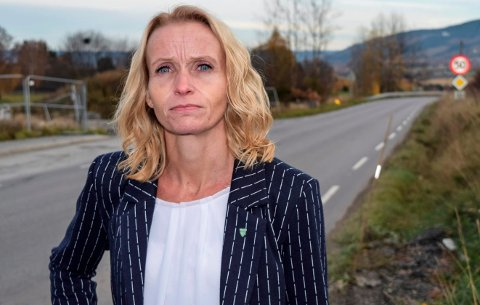 ALDRI: – Vi vil aldri akseptere en plassering av Mjøssykehuset i Brumunddal, gjør Ap-leder i Østre Toten, Guri Bråthen klart.