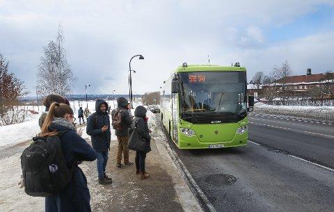 Vekst: Ruter kan vise til en passasjervekst på 7, 3 prosent i Ås. Det er kun Nesodden som har større vekst i Follo.