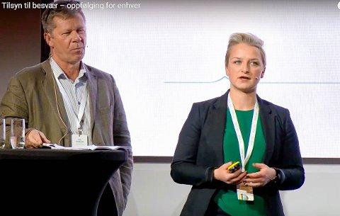 KOM I FOKUS: Linn-Ida Ellingsen og Tom Mangelrød fikk kritikk fra både ordfører og rådmann før jul.