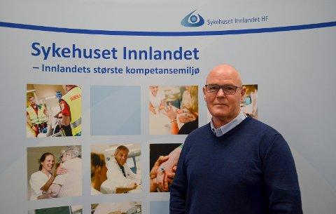 BEKLAGER: Frank Roar Byenstuen, kommunikasjonsdirektør i Sykehuset Innlandet, beklager at en postliste med personsensitive opplysninger ble offentliggjort.