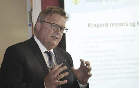 REKTOR: PVS-rektor Kai Magne Bråthen.