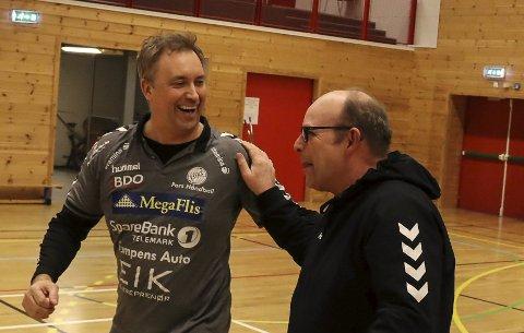 GA FORKLARING: Jens Kåre Aasen og Pors-håndballen.