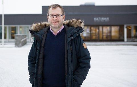 Glad: Rektor ved Rakkestad Kulturskole, Trond Nilsen, er glad for at politikerne går inn for rådmannens vedtak om å prioritere kulturskolen i neste års budsjett. Foto: Marita Lundsrud Berg