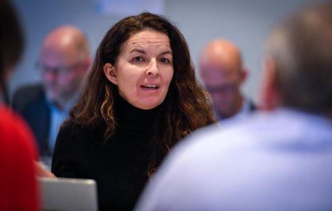 Helse-Nords nestleder i styret, Inger Lise Strøm, var opptatt av omegn-begrepet og å forsikre seg om at indikatorene for å velge sykehustomt i Sandnessjøen og omegn er brede nok til å fange opp de beste svarene.