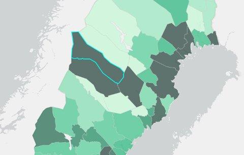 Storuman har nå det høyeste smittetrykket i Sverige. Lycksele har det tredje høyeste. Vilhelmina har også et utbrudd og er nå inne på oversiktene som viser antall smittede per kommune.