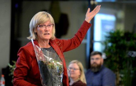 NYE PLANER: Karin Andersen, SV, blir pensjonist og skal bruke tida på mye annet når hun ikke fikk sin 7. periode på Stortinget.