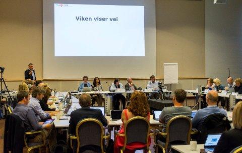 Politikerne fra tre fylker, som utgjør Fellesnemnda for Viken, var uenige om hvor god denne visjonen er for storregionen. Nå venter de med den endelige avgjørelsen.