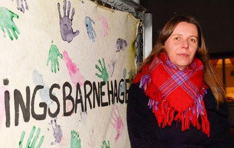BARNAS BESTE: Agnes Aaby Hirsch har sammen med andre foreldre engasjert seg for barna i Vik formingsbarnehage.