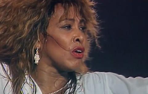 TINA SLÅR AN PÅ RJUKAN: Filmen om Tina Turner på Rjukan kino er helt utsolgt ikveld. Det er også enste forestilling.