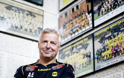 23 ÅR: Arne Erlandsen har vært en del av LSKs A-lag enten som spiller eller trener i nesten en fjerdedel av klubbens levetid. 57-åringen er treneren som har ledet LSK i flest år på toppnivå.      FOTO: TOM GUSTAVSEN