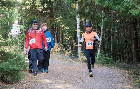 GÅ ELLER LØPE: Du må ikke løpe Rødseterpytten Rundt. Du kan også gå trimturen uten tidtaking.