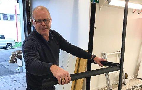 DOBBEL DAGLIG LEDER: Kjetil Hamre er daglig leder for både Hurtigruta Carglass og MPS Microservice på Pindsle.