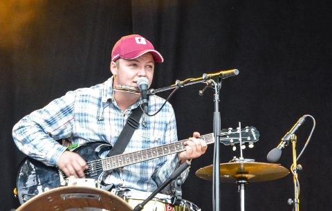 ENMANNSBAND: Caravan Joe, alias Tor-Magnus Sandbekk, er blant musikerne som deltar på Bandgathering på Rukla fredag.