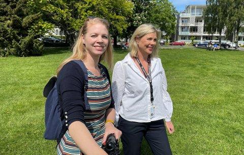 BARN OG UNGE: Kommunepsykolog May Lene Karlsen (t.v.) og konstituert seksjonsleder oppvekst og helse Torhild Svalestuen vil høre din mening om ditt møte med kommunen.