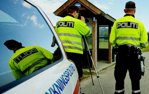 Utrykningspolitiet har fokus på å luke ut sjåfører som kjører i rus.