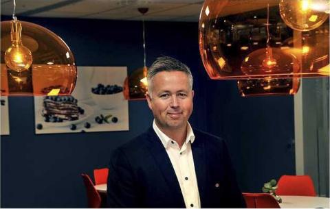 STORE OPPDRAG:  Industridivisjonen  til AFRY, som Jon Julsen leder fra lokaler på  Tunejordet, har fått inn to stor oppdrag.
