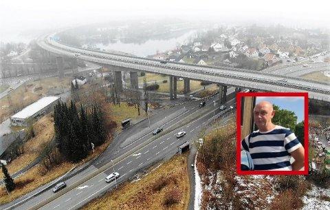 KRYSS: Torsbekkdalen huser krysset som ble stemt frem som «skumleste» alternativ av SAs lesere. Kjørelærer Knut Ole Mørk forklarer deg hvorfor du allikevel IKKE bør engste deg for denne veistumpen.