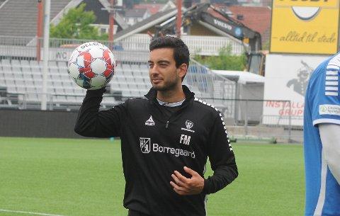 TOPPSPILLERUTVIKLER: Frederico Morais tror Laurent Mendy blir solgt til en større klubb enn Sarpsborg 08 en gang i framtiden.