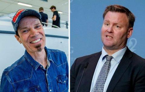 Espen Nakstad (til høyre)  er en av oppfinnerne bak Bård Ekers EpiShuttle. I fjor omsatte selskapet Epiguard, som produserer den spesielle kuvøsen, for over 99,9 millioner kroner.