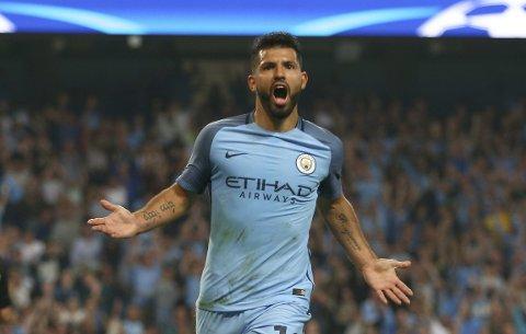 Manchester Citys Sergio Aguero kan være tilbake i startelleveren i dagens kamp.