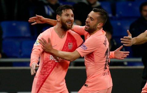 Lionel Messi er ikke med til Sevilla i kveld. Søndag var han avgjørende for Barcelona i hjemmemøtet mot Leganes. (AP Photo/Joan Monfort)