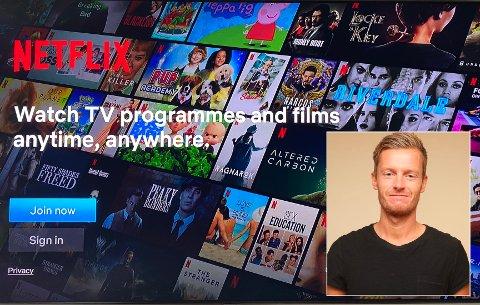 KARANTENE-TV: Journalist Endre Romøren kan meir enn sport, og kjem her med tilrådingar til kva du kan sjå på fjernsyn i desse karantenetider.