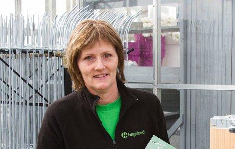 Arkivfoto. Daglig leder ved Hageland Klingsheim, Anne Klingsheim.
