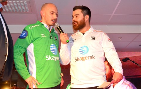 Nyheten om Jone Samuelsen ble presentert på Odds kick-off på Skagerak Arena lørdag kveld. Samuelsen var glad for at det hadde gått så greit.