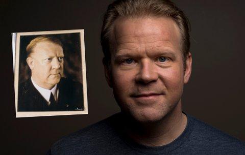 Oslo  20180221. Skuespiller Anders Baasmo Christiansen spiller i filmen Norske byggeklosser som har premiere i disse dager. Foto: Tore Meek / NTB scanpix