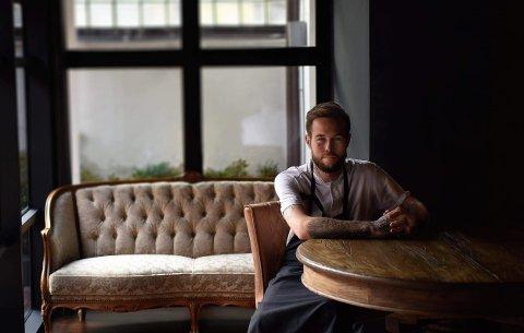 KJØKKENSJEF: Jimmy Øien på restaurant Rest i Oslo.
