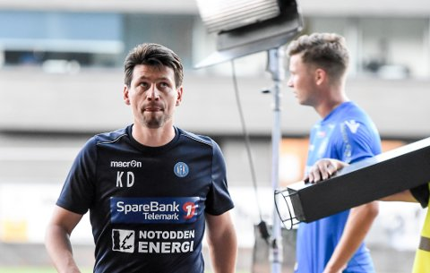 KLAR: Kenneth Dokken sier det var godt med en drøy ukes hvile fra fotballkaoset i OBOS-ligaen. Nå er han klar for å ta fatt på høstsesongen.