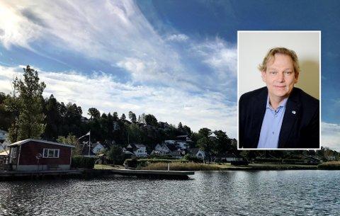 INKLUDERT? Jeg er usikker på hvor omfattende AP ser for seg boplikten på Nøtterøy, men at de ønsker boplikt på Nøtterøy er åpenbart. Om Nesbrygga og Munkerekka er inkludert vites ikke, skriver Pål Ese.