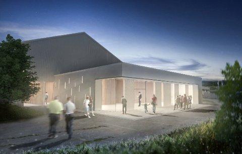 "Re kommunes nye ""storstue"", Døvikveien 2 har plass til 400 personer"