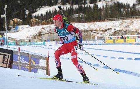 100 POENG: Seier fredag og 5. plass lørdag innbragte Sindre Pettersen nøyaktig 100 poeng i IBU-cupen. Det gir en foreløpig 11. plass.