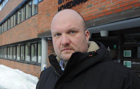 HEMMELIGHETSFULL: Kommunikasjonsjef Kristian Westgård i Nittedal kommune.