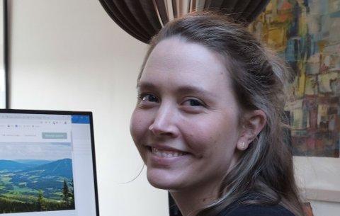 FÅR HJELP: Leder Monica Torp Olufsen i Nittedal Næringsforening er glad for støtten fra Nittedal kommune.