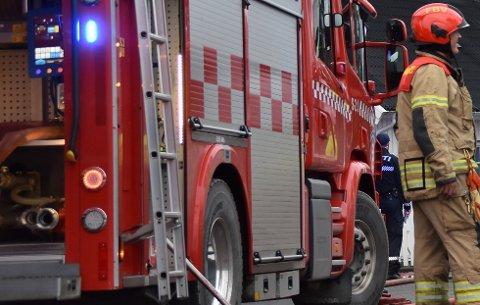ILLUSTRASJONSFOTO: Det er viktig at fremkommeligheten er god når brannvesenet skal rykke ut.