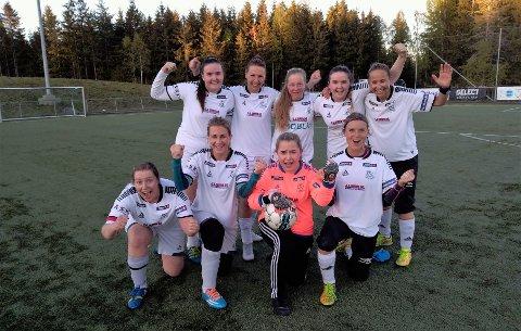 Knallsterkt: HSVs damelag vartet opp med en meget sterk hjemmeseier mot Rapid Athene i sin første hjemmekamp denne sesongen