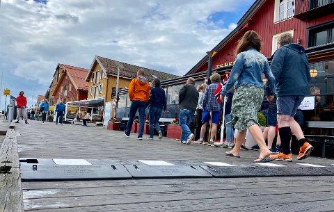MERKEVARE: Brygga i sommerferien er en introduksjon til Tønsberg for mange. Kanskje kommer regionen til å tiltrekke seg folk som vil vekk fra trangboddhet og skyhøye eiendompriser i Oslo-området.
