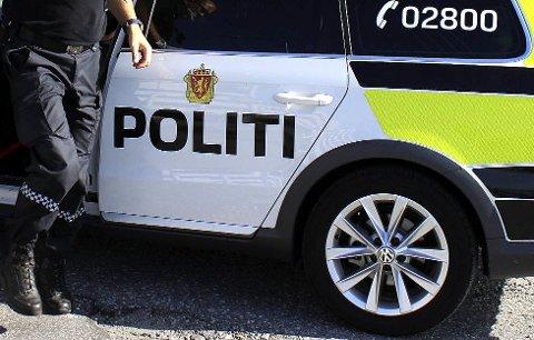 Politiet fratok mannen i 40-årene førerkortet.